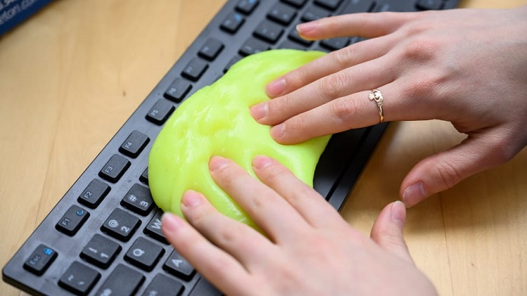 A Cleaning Gel For Keyboards