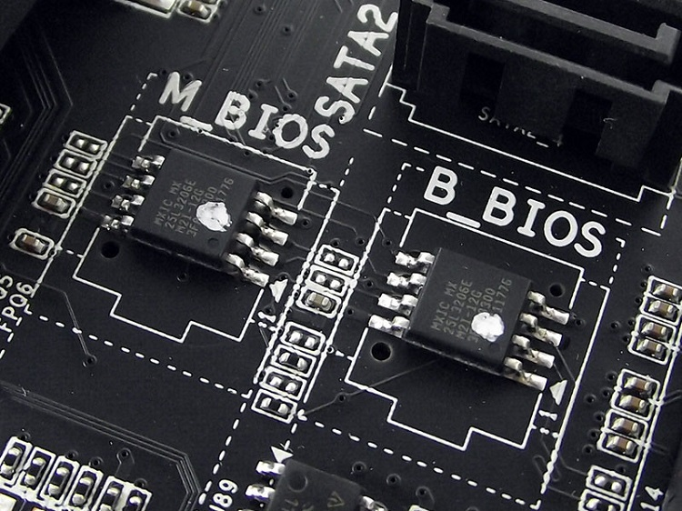 Bios chips Mobo