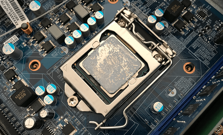 CPU Not Getting Enough Paste