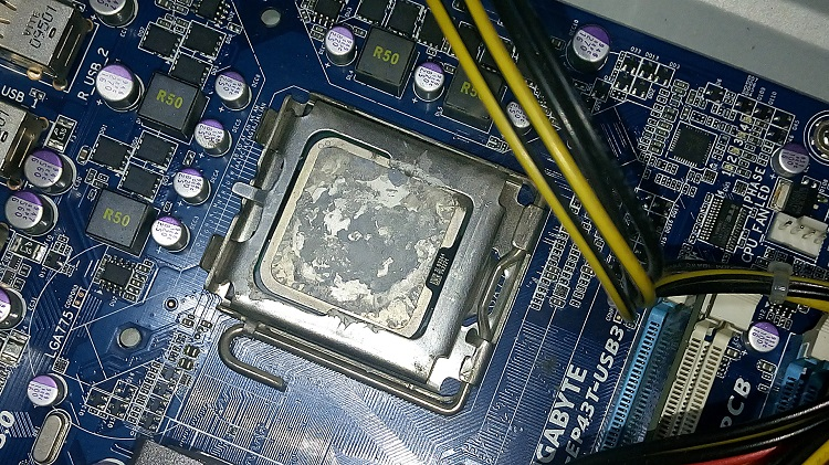 Old CPU Removal
