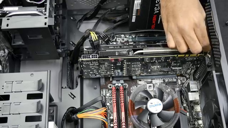 Remove The Graphics Cards