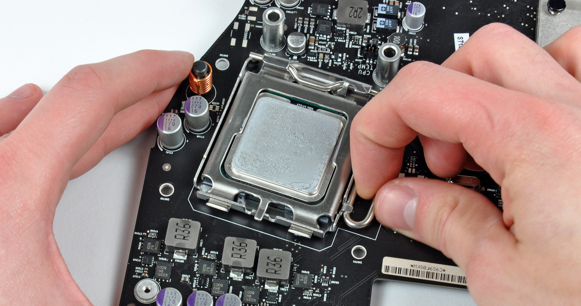 How to Replace the CPU?